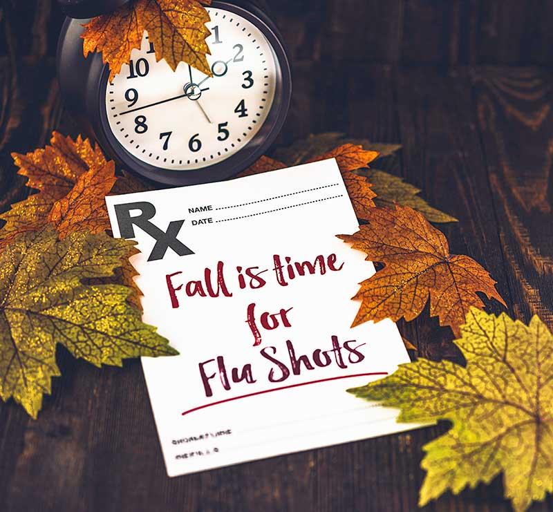 Flu Shots Reminder